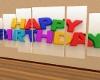 happy birthday sign anim