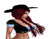 TD Cowgirl hat hair