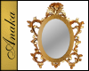 AT - Ornate Oval Mirror