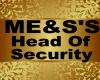 ME&S'S Head Of Security