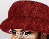 ṩFur Hat Red