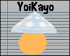 YK  Mushroom Pet *Blue