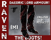 DAEDRIC LORD BOOTS!