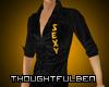 .TB. Gold Sexy Shirt