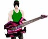 metallic guitar