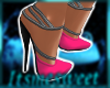 Glam Gown Shoes - Hpink