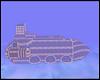 Steampunk Air Sub Ship