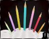 ⛧: Pencil Crown