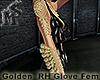 Golden RH Glove Femme