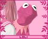 L- e Pink Kermit e