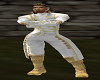 chaqueta principe blanca