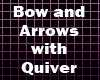 Bow & Arrows with Quiver