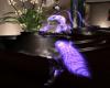Ghost Furry Kini Blue
