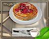 Vegan Raspberry Pancake
