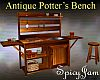 Antique Potting Bench