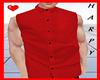 Red Sleeveless Shirt