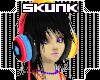 !S! Skunk Headphones