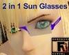 Blue Haze Sun Glasses