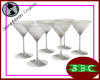 Cocktail Glasses (x6)