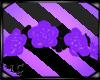 Lt Purple Rose Headdress