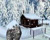 Winter Cabin Xmas