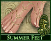 Summer Feet Natural GLD