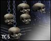 Hallows hanging skulls