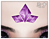 M| Tri Purple Crystal
