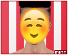 .M| blush emoji