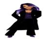 Black/Purple Tuxedo