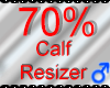 *M* Calf Resizer 70%