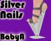! BA Silver Avant Shoes