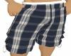 Plaid Baggy Shorts