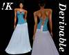 !K!Delure Corset Gown