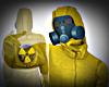 Biohazard Toxic Suit/M