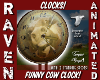 FUNNY COW CLOCK!
