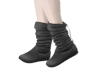 Kids Grey Slouch Boots
