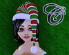 Stripy Holiday Hat