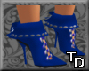 *T Short Boots Blue