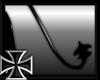 -X-Blk Rubber Demon Tail