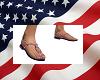 USA Flag sandles