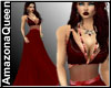 Vampire Red Sexy Gown