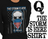 QANON:THE STORM IS HERE
