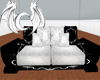 [X] Black Bling couch