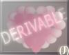 (J)DRVBLE HEART BALLOONS