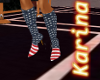 -K- US Flag Boots 2