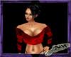 Dark Red silk top