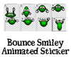 Bounce Animated Smiley