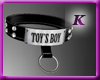 [K] Male Collar - Toy
