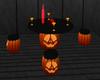 Halloween pumkin table